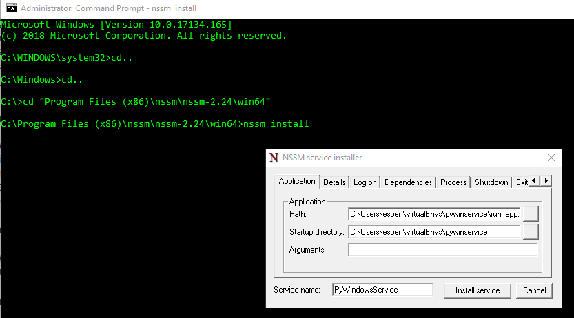Windows virtualenv activate script | Pip and virtualenv on